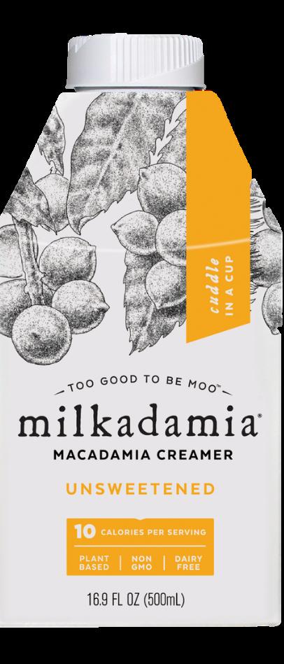 milkadamia Unsweetened Creamer